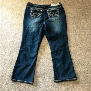 Hydraulic plus size jeans size 20